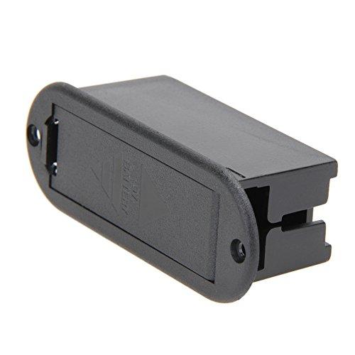 everpert 9V Batterie Cover Case Box Fach für Gitarre Bass