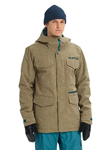 Burton Mens Covert Jacket, Kelp Heather, XX-Small