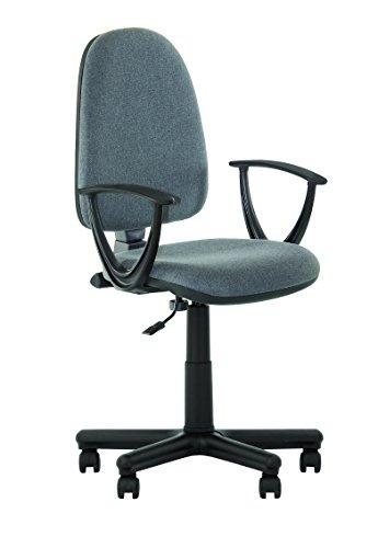 Prestige II–Bürodrehstuhl ergonomisch Rückenlehne. Mit Armlehnen/ohne Armlehnen Gris avec Accoudoirs
