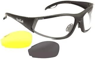 Bolle Rogue ASAF Sunglasses, Matte Black Clear/Yellow/Smoke
