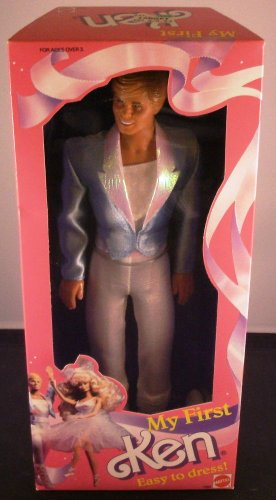 MY FIRST KEN EASY TO DRESS 1988