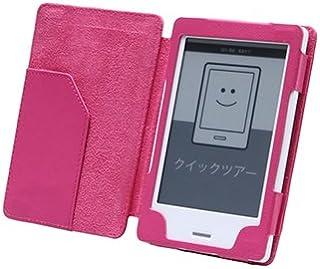 Kobo Touch レザーケース ピンク