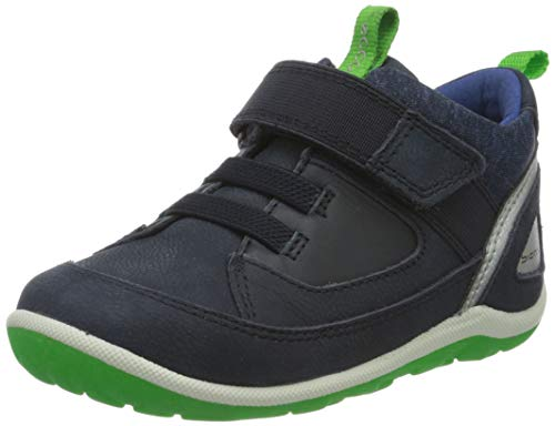 Ecco Baby Jungen BIOMMINISHOE Sneaker, Blau (Night Sky/Night Sky 50769), 25 EU