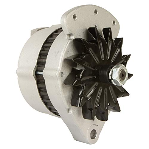 Alternator Compatible with/Replacement for Motorola Style (8056) New Holland L425 L225 L35 L783 L455 L325 L445 L451 L454 L781 L784 L775 L452 235175 Ford CL30