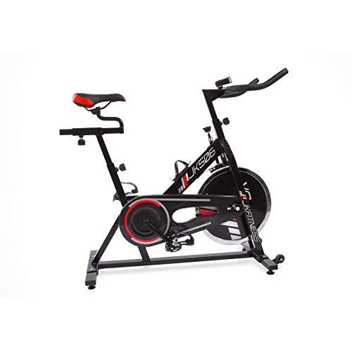 JK Fitness Bicicletta Indoor Professional JK506, Adulti Unisex, Nero, 102 x 47 x 102/110 cm (L x P x A)