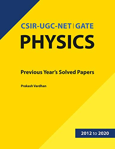 CSIR-UGC-NET / GATE Physics Solved Paper
