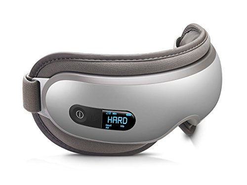 Breo iSee16 Eye Massager Cordless Eye Compress Mask with Air Pressure, Vibration, Heating for Dry...