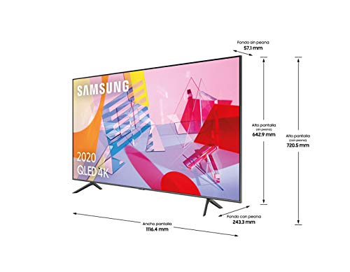 SAMSUNG Samsung QLED 4K 2020 50Q64T - Smart TV d