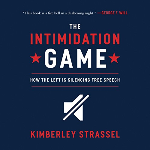 The Intimidation Game audiobook cover art