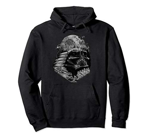 Star Wars Darth Vader Build The Empire Graphic Hoodie