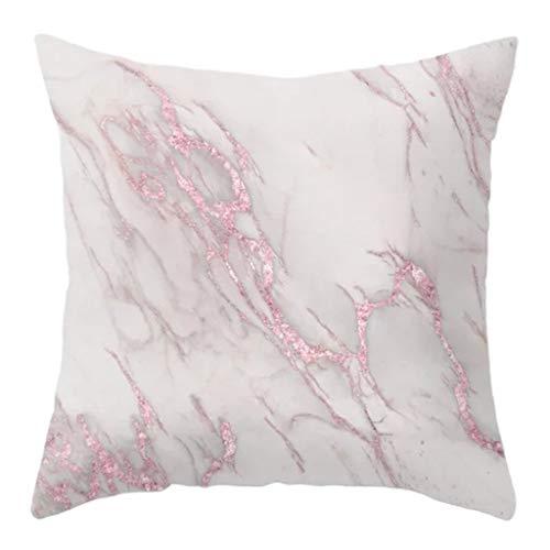 gszfsm001 - Federa per cuscino in stile nordico, motivo geometrico, in poliestere, sfumato, motivo astratto, stampa artistica per casa, auto, divano, letto, cuscino