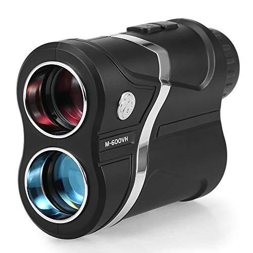 Lixada Telémetro de Golf 600m Telescopio Monocular USB Recargable Rango de Caza Descubridor Medidor de Distancia