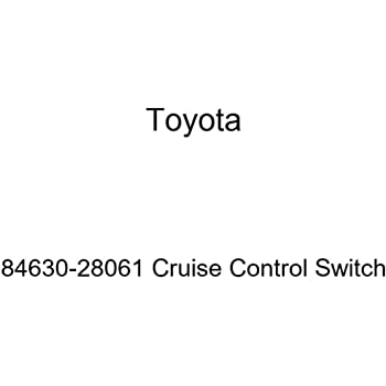 Toyota 84630-26011 Cruise Control Switch