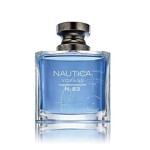 Nautica Eau de Toilette Voyage N-83 para Hombre, color Azul, 3.4 Oz/ 100 ml