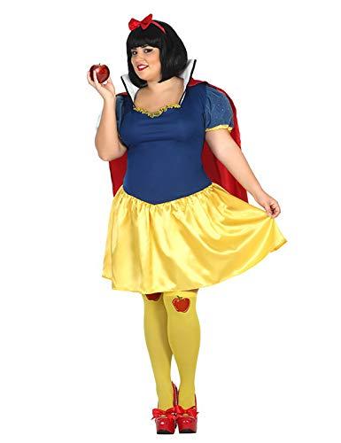 ATOSA disfraz princesa de cuento mujer adulto amarillo XXL