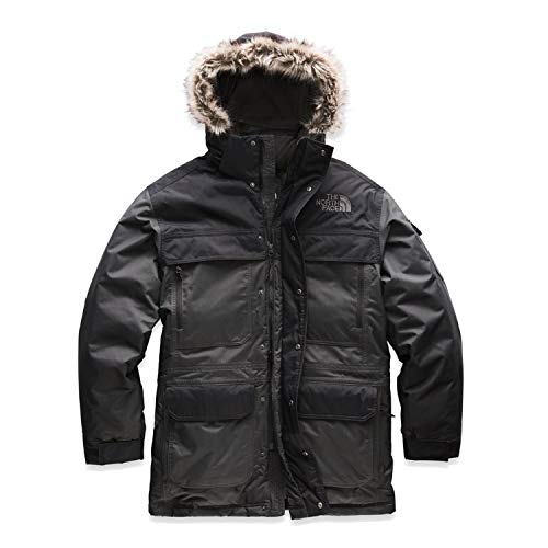 The North Face Men's McMurdo Parka NF0A33RF Asphalt Grey/TNF Black (XX-Large)