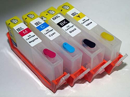 934 935 Set di cartucce ricaricabili serie 934 - 935XL per stampanti H.P. Con chip ARC autorresettabile