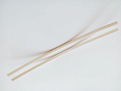 Electrodos de Plata Pura 999 2 plaquetas 11cm x 2,5mm para la produccion de Plata coloidal en casa