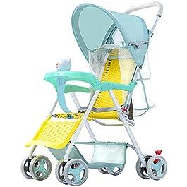 DUTUI Chariot pour Enfants, Chariot De Parapluie Imitant Le Rotin pour Enfants, Chariot De Chaise De Sandale pour…