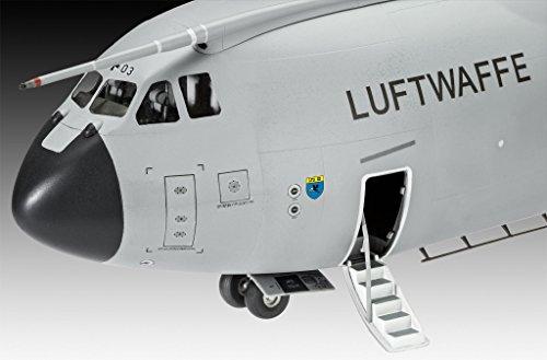 Revell REV-03929 Airbus A400M Atlas, Flugzeugmodellbausatz 1:72, 64,4 cm 03929, unlackiert