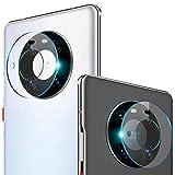 NOKOER Kamera Panzerglas Kompatibel für Huawei Mate 40 Pro, [3 Stück] Superdünnes Gehärtetes 2.5D Kamera Schutzglas, 360 Grad Schutzkamera- Transparent