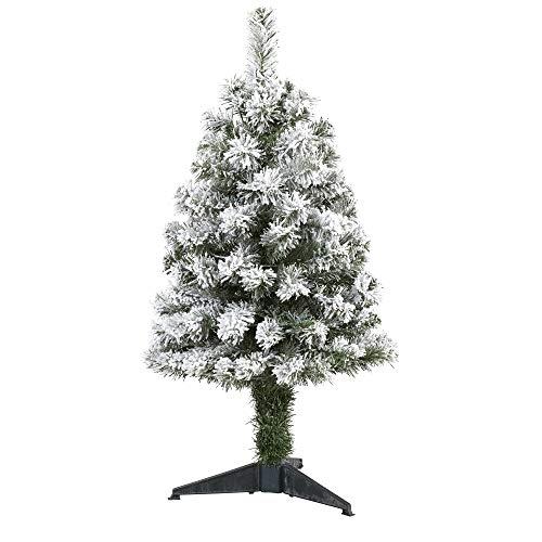 3ft. Flocked West Virginia Fir Artificial Christmas Tree