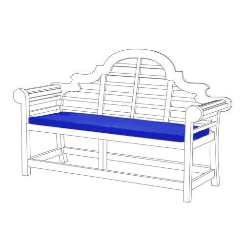 Gardenista Wasserabweisend Lutyens Gartenbank Kissen in blau-kleine
