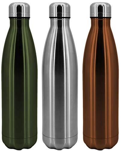 PF P a F e Vakuum Isolierte Edelstahl Trinkflasche Doppelwandig Thermoflasche - 750ml - Wasserflasche Sport Flasche Camping Fahrrad Fitness Büro - Kupfer …
