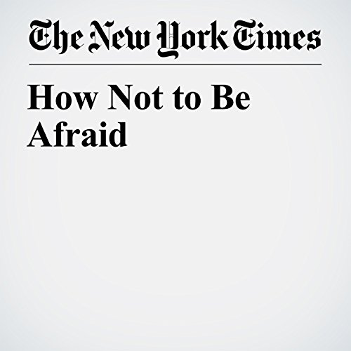 How Not to Be Afraid copertina