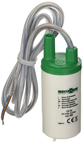 BRUNNER Aquatic pompa acqua ad immersione 10 L