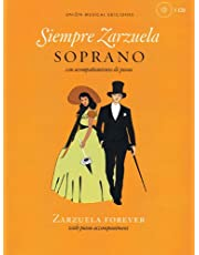 Siempre Zarzuela (Zarzuela Forever): Soprano (Book & CD)