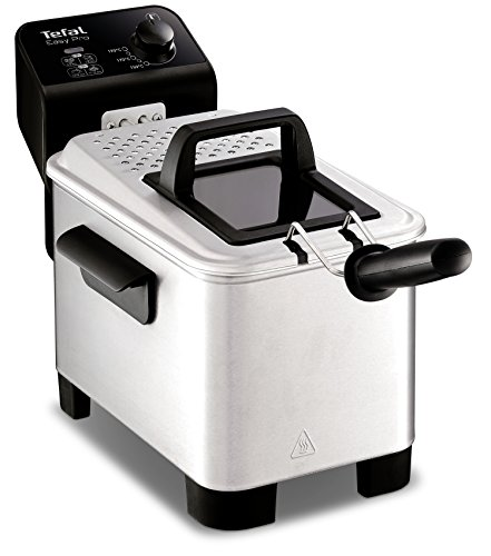 Tefal FR333040 Easy Pro Deep Fryer, (5 Portions), 1.2 Kg Capacity, 2100 W,...