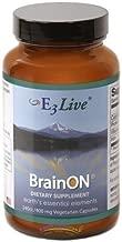 E3Live BrainON -- 400 mg - 240 Vegetarian Capsules by E3Live