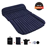 Farasla Upgraded Inflatable Air Mattress with Extra Air Pillows, Pump, Repair Patch and Storage Bag - Camping in The Comfort of Your Own Vehicle