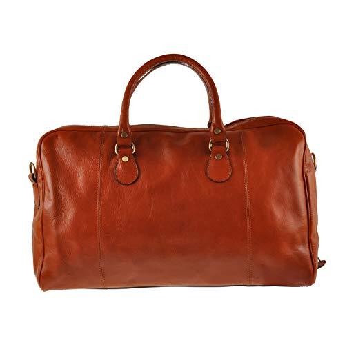 ORE 10 – Bolsa de viaje de piel – Bolso vintage de cuero