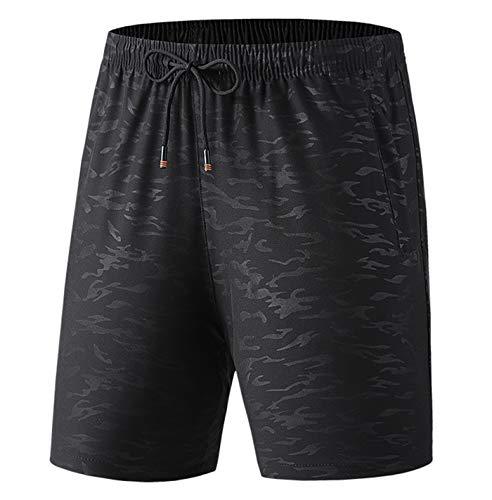 Talla Grande 6XL 7XL 8XL Shorts Shorts Verano Casual Playa Pantalones Cortos Hombres gimnasios Cortos Black 4XL