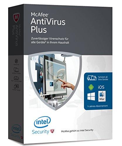 McAfee AntiVirus Plus 2016 - für eine unbegrenzte Anzahl an Geräten (Minibox Verpackung)