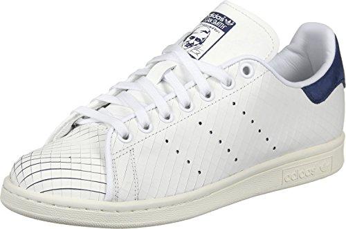 adidas Stan Smith W, Chaussures de Gymnastique Femme, Blanc Ftwwht/Conavy, 38 2/3 EU