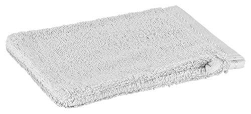 Floringo Handtuch Serie Exclusiv 600g/m² (Waschhandschuh 17x22, hellgrau)