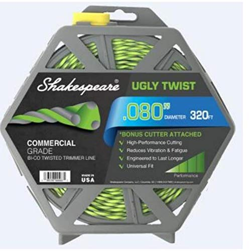Great Deal! Shakespeare 320-ft Spool 0.08-in Spooled Trimmer Line