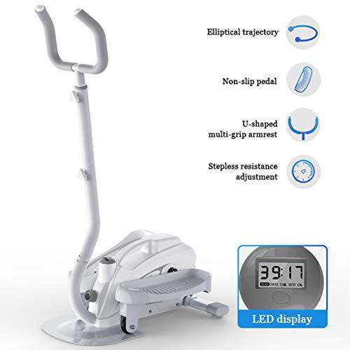 Mini Stepper, Home Twist Stair Stepper 3 Engranaje Altura Ajustable Ajuste De Resistencia Continuo Pantalla Led HD Equipo De Fitness con Reposabrazos