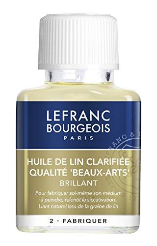 Lefranc & Bourgeois, Strumento per la Pittura, Trasparente, 75ml