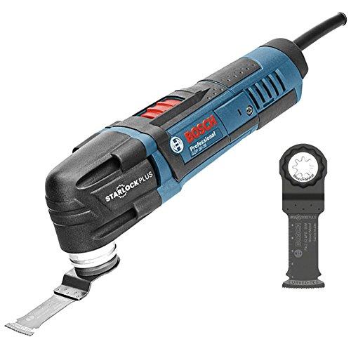 Bosch Professional GOP 30-28 Utensile Multifunzione, 20000 Giri/Minuto, 300 W, 1.5 kg, Blu, Carton / 0601237001, Blue
