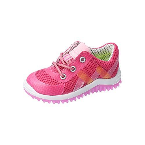 RICOSTA Kinder Sneaker Pero von Pepino, Weite: Mittel (WMS),lose Einlage,Kinderschuhe,schnürschuhe,Halbschuhe,rosada (331),28 EU / 10 Child UK