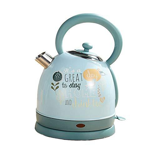 Wasserkocher,1.8L, 1850W, Schnellkochfunktion, Quiet-Boil-Technologie, Optimierte Ausgusstülle, Sehr Leiser Teekocher, Blau