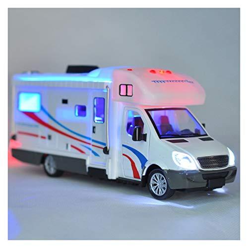 HCEB Diecast Modelo de Coche 1:32 Para RV Remolque Caravana de Lujo Autocaravana Vehículo Recreativo Aleación de Metal Diecast Modelo de Coche de la Colección Babys to-ys Modelo de Coche