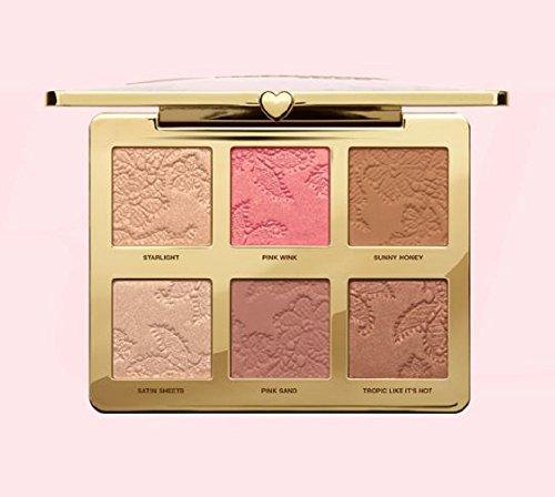 Natural Face Make-up-Palette mit exklusivem, natürlichem Highlight, Rouge und Bronzing-Puder - Too Faced, trendiger Bestseller