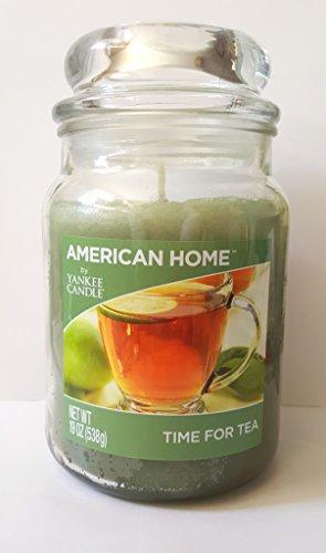 Yankee Candle American Home Time for Tea Aufbewahrungsdose, 1 Docht, 540 ml, Grün