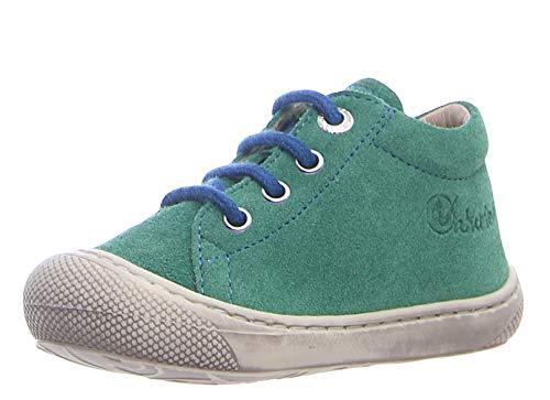 Naturino Cocoon Erste Schuhe Lauflernschuhe Schnürsenkel Grün, Schuhgröße:EUR 21