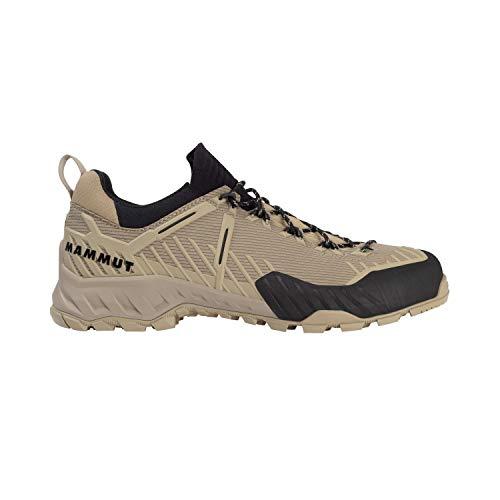 Mammut Herren Zapatilla ALNASCA Knit II Low Sneaker, Safari/Dark Safari, 42 EU